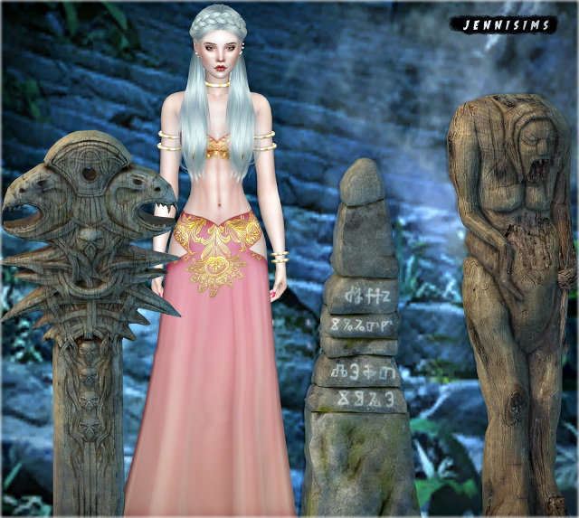 Sims 4 Set Vol 61 Decoratives (3 Items) at Jenni Sims