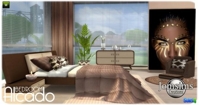 Sims 4 Alcado bedroom at Jomsims Creations
