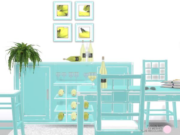 Fushion Set by DOT at TSR image 410 Sims 4 Updates