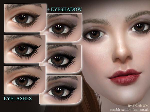 Eyelashes 201709 by S Club WM at TSR image 4100 Sims 4 Updates