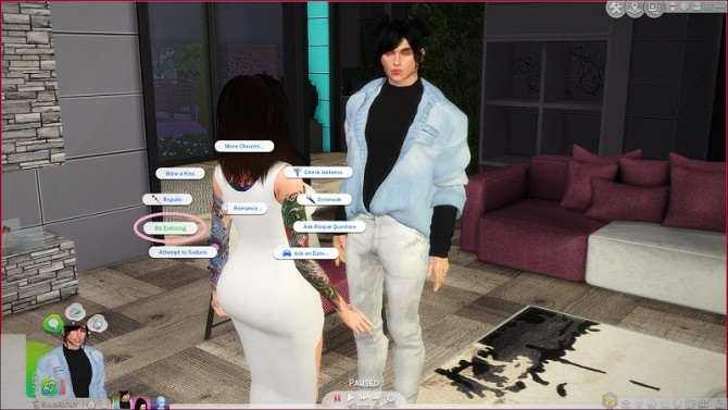 Sims 4 Flirtatious Interactions Always Available 1.31 by Manderz0630 at Mod The Sims