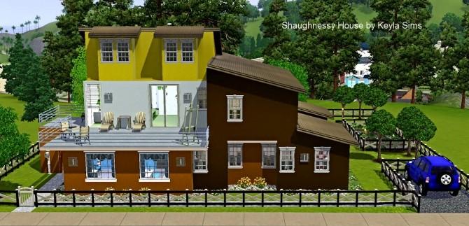 Sims 4 Shaughnessy House at Keyla Sims