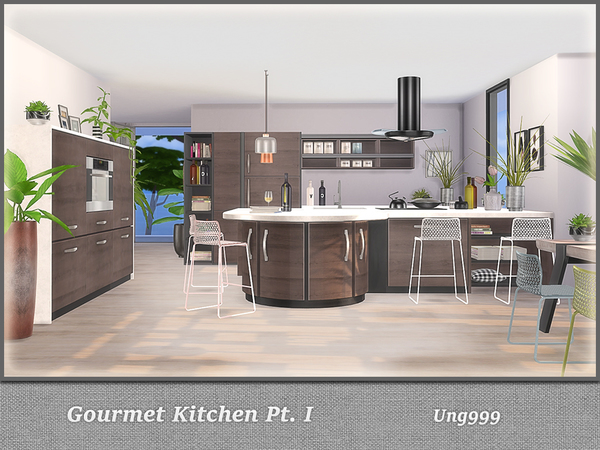 Gourmet Kitchen Pt. I by ung999 at TSR image 4215 Sims 4 Updates