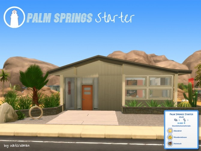 Palm Springs Starter by Waterwoman at Akisima image 4241 670x503 Sims 4 Updates