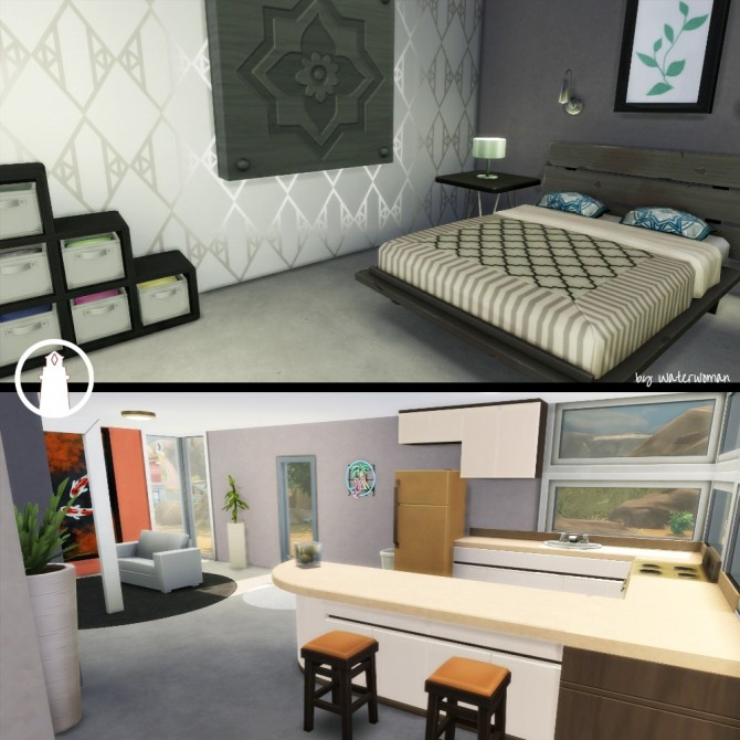 Palm Springs Starter by Waterwoman at Akisima image 426 670x670 Sims 4 Updates