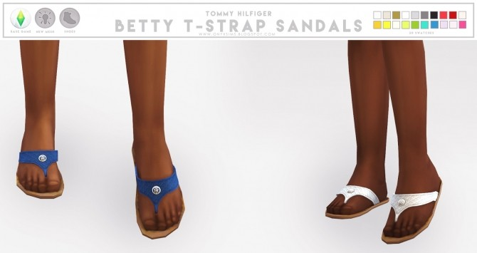 TH Betty T Strap Sandals at Onyx Sims image 4421 670x355 Sims 4 Updates