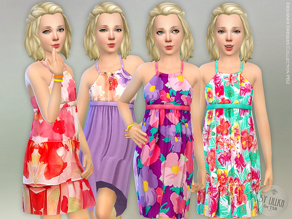 Designer Dresses Collection P82 by lillka at TSR image 451 Sims 4 Updates