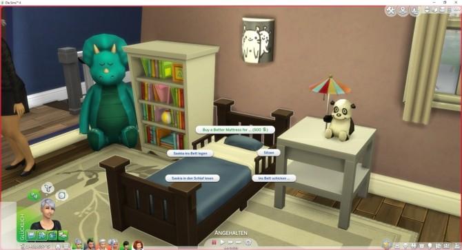 Sims 4 Buy a better Mattress (Better Energy/Comfort on Beds) by LittleMsSam