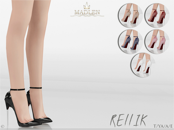 Madlen Rellik Shoes by MJ95 at TSR image 4517 Sims 4 Updates