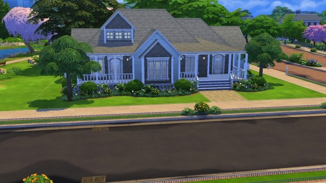 Sims 4 Blue Jasper Empty by PolarBearSims at Mod The Sims