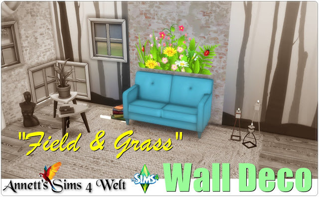 Wall Deco Field & Grass at Annett's Sims 4 Welt image 4631 Sims 4 Updates