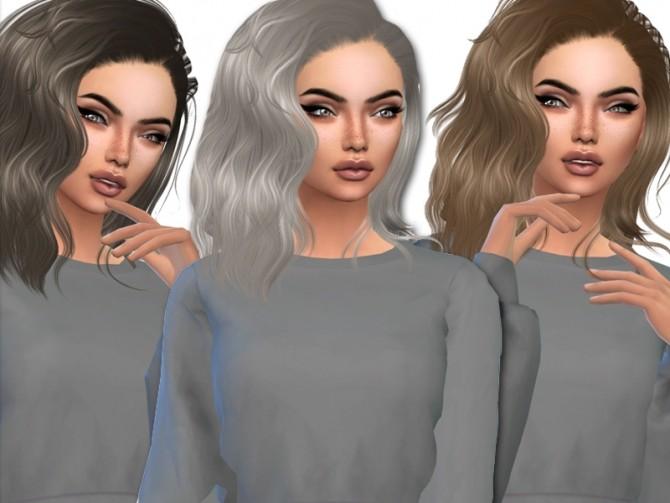 Sims 4 Sintikila Queen hair recolor by xLovelysimmer100x at SimsWorkshop