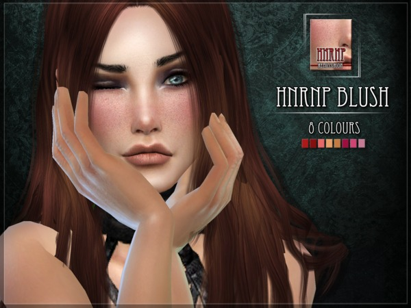 hnRNP blush by RemusSirion at TSR image 4701 Sims 4 Updates