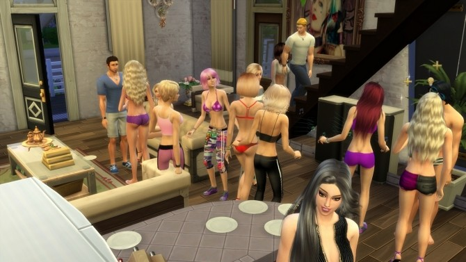 Sims 4 Invite Into Home Longer by zcrush at Mod The Sims