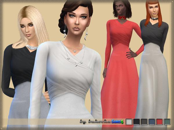 Sims 4 Dress Female by bukovka at TSR