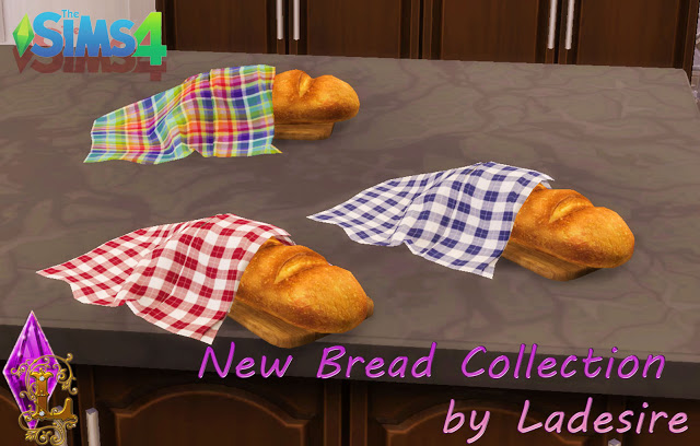 New Bread Collection at Ladesire image 4816 Sims 4 Updates