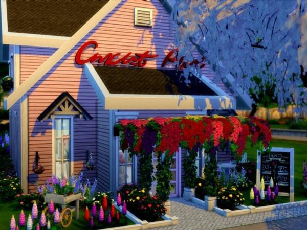 SLRN Flower Shop by selarono at TSR image 4819 Sims 4 Updates