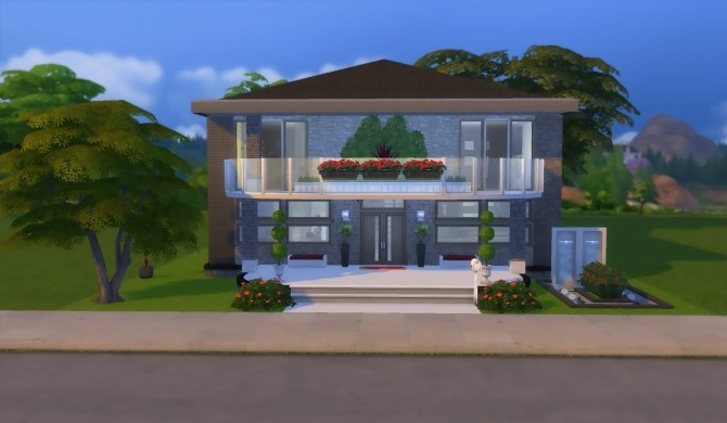 Sims 4 Felicity House NO CC by patty3060 at Mod The Sims