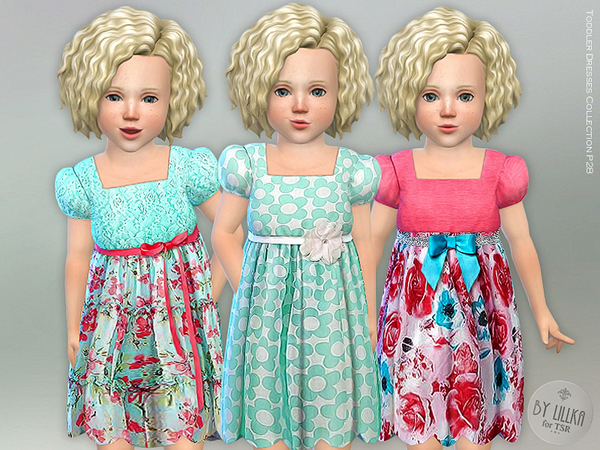 Sims 4 Toddler Dresses Collection P28 by lillka at TSR