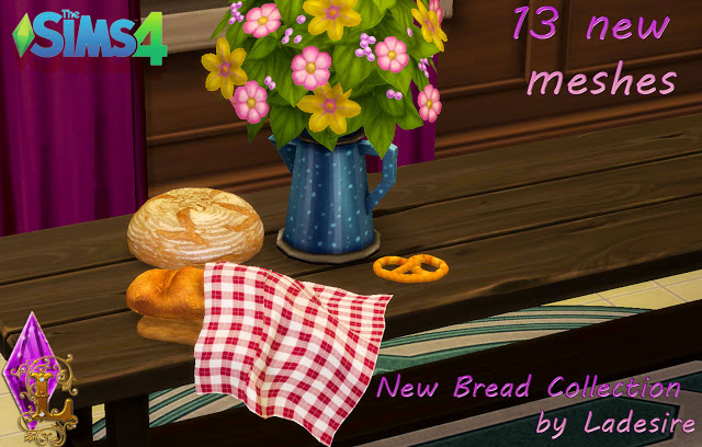 New Bread Collection at Ladesire image 4916 Sims 4 Updates