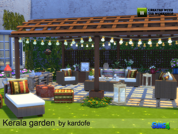 Kerala garden by kardofe at TSR image 4918 Sims 4 Updates