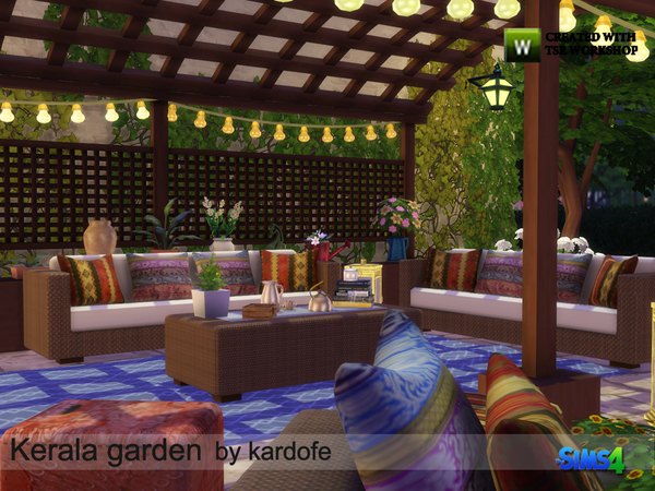 Kerala garden by kardofe at TSR image 5018 Sims 4 Updates
