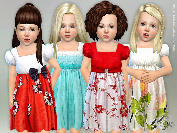 Toddler Dresses Collection P26 by lillka at TSR image 5102 Sims 4 Updates