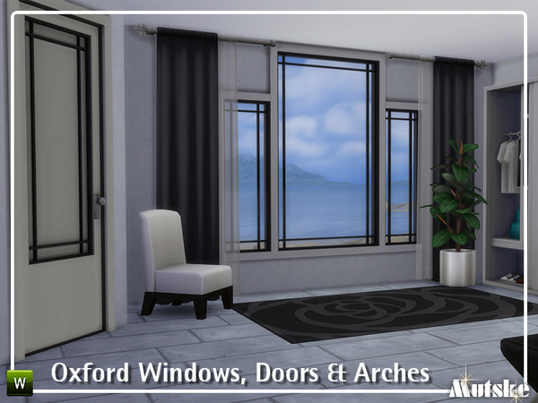 Oxford Windows, Doors and Arches by mutske at TSR image 5109 Sims 4 Updates