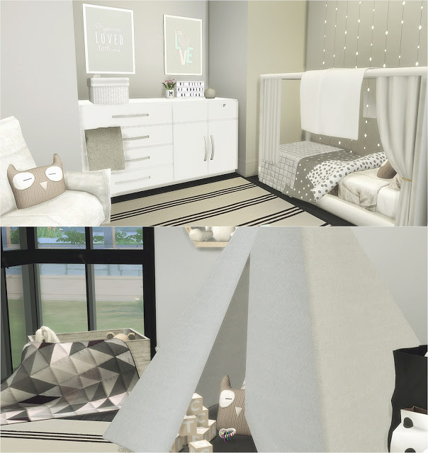 Toddler Room At Liney Sims 187 Sims 4 Updates