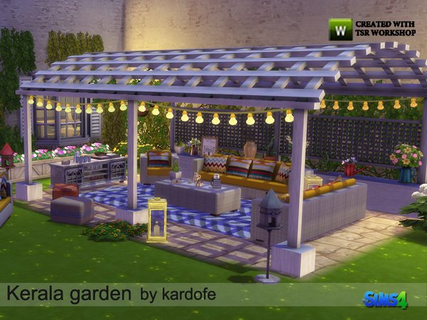 Kerala garden by kardofe at TSR image 5118 Sims 4 Updates