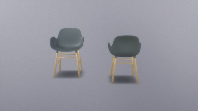 Form Armchair at Meinkatz Creations image 5181 670x377 Sims 4 Updates