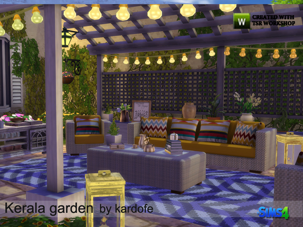 Kerala garden by kardofe at TSR image 5217 Sims 4 Updates