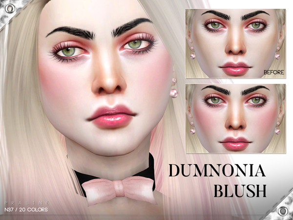 Dumnonia Blush N37 by Pralinesims at TSR image 531 Sims 4 Updates