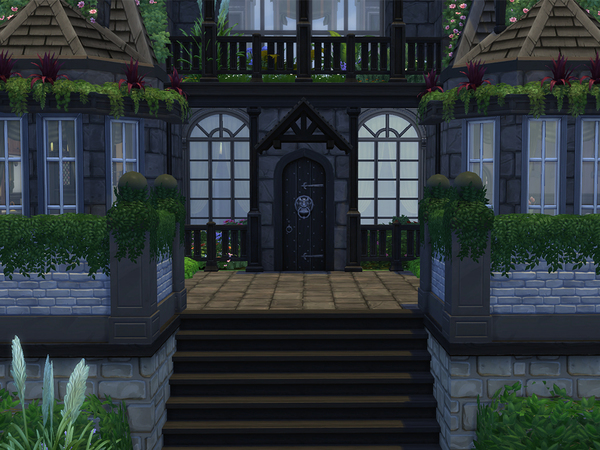 Sims 4 Somber Retreat by A3ON97 at TSR