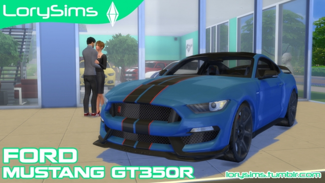 Ford Shelby Mustang Gt350r At Lorysims 187 Sims 4 Updates