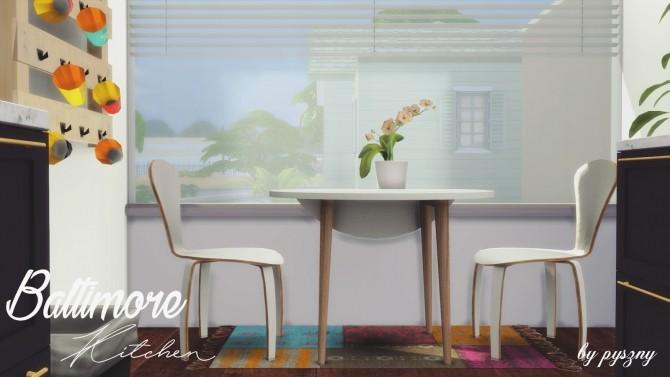 Baltimore Kitchen New Set At Pyszny Design Sims 4 Updates