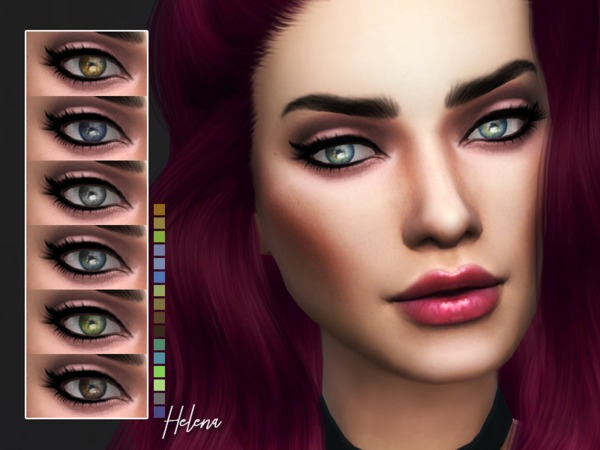 KM Helena Eyes by Kitty.Meow at TSR image 5515 Sims 4 Updates