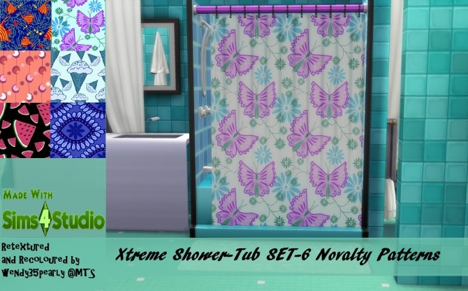 Sims 4 Xtreme ShowerTub Set 22 Designs by wendy35pearly at Mod The Sims