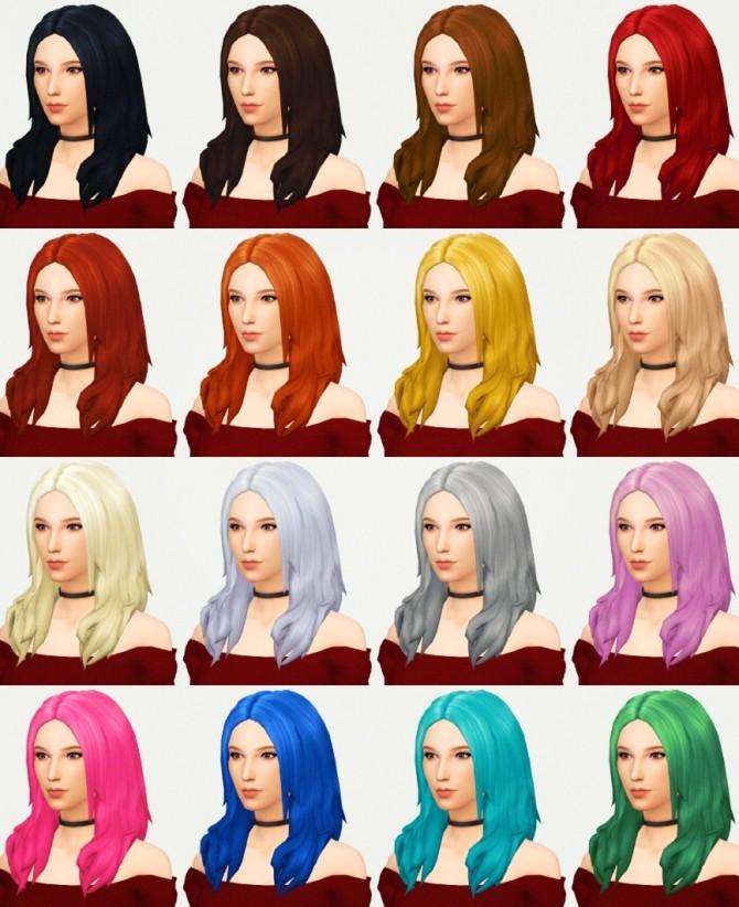 Sims 4 Keira hair at KotCatMeow