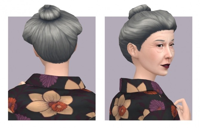Orchid Hair Versions 1 & 2 plus Overlay Accessory at Femmeonamissionsims image 586 670x428 Sims 4 Updates