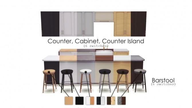 Baltimore Kitchen new set at Pyszny Design image 60 670x377 Sims 4 Updates