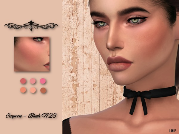 IMF Empress Blush N.23 by IzzieMcFire at TSR image 6015 Sims 4 Updates