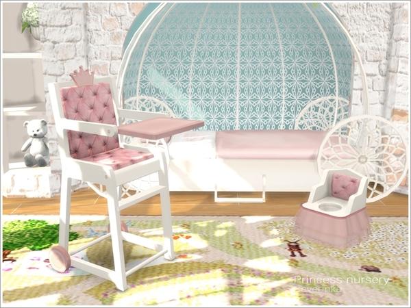 Princess Nursery by Severinka image 6100 Sims 4 Updates