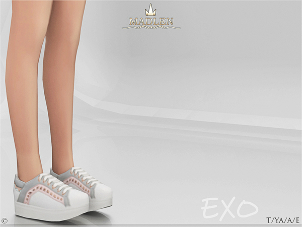 Sims 4 Madlen Exo Shoes by MJ95 at TSR