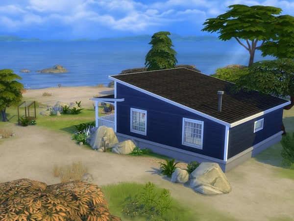 Cottage by the sea by galadrijella at TSR image 611 Sims 4 Updates