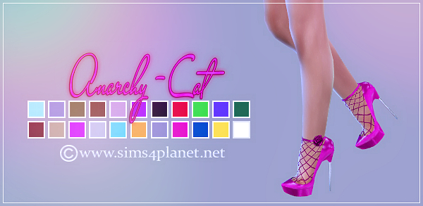 Madlen Lolita Shoes at Anarchy Cat image 6113 Sims 4 Updates