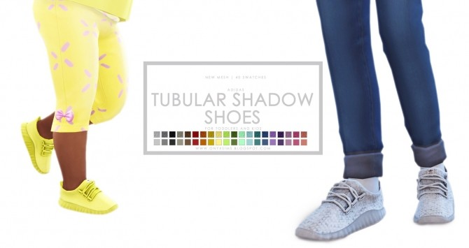 Tubular Shadow Shoes at Onyx Sims image 617 670x355 Sims 4 Updates