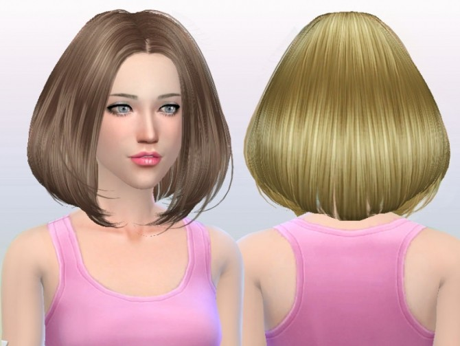 Sims 4 B fly hair af 167 No hat (free) by YOYO at Butterfly Sims