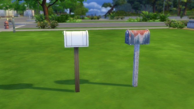 Real Rust Ol Rusty Mailbox by VictorialaRidge at Mod The Sims image 6314 670x377 Sims 4 Updates