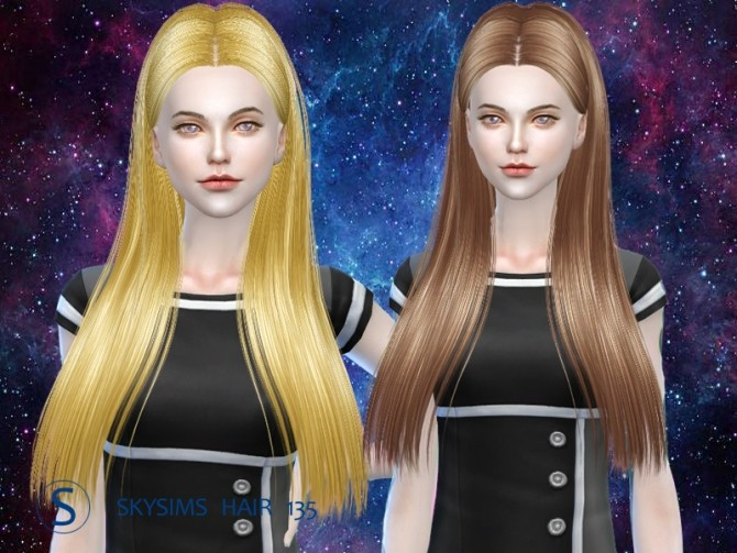 Sims 4 Hair 125 (Pay) by Skysims at Butterfly Sims